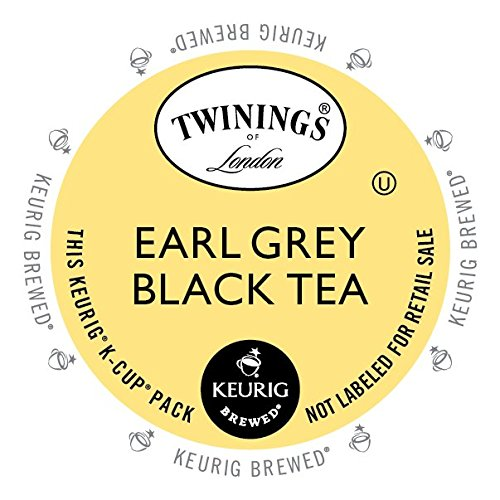 Twinings Earl Grey Tea, Keurig K-Cups, 24 Count (Keurig Coffee And Tea Pods compare prices)