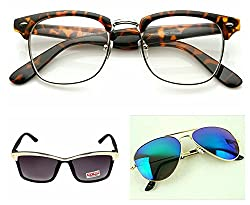 Redix New 3 in 1 TraditionaL Sunglasses For Unisex