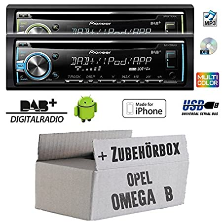 Opel omega b-pioneer dEH-x6800DAB dAB-cD/mP3/uSB avec dAB et antenne kit