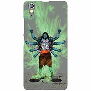 Lenovo A6000 Plus Back Cover - Powerful Designer Cases