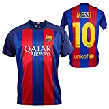 Official Replica FC BARCELONA 2016-2017, Shirt Messi - Adults Size: XXL
