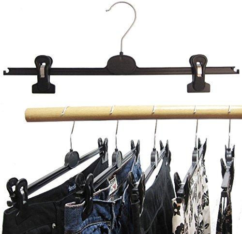 hagspiel kleiderb gel 20 stk kleiderb gel aus kunststoff schwarz mit 2 extra starken. Black Bedroom Furniture Sets. Home Design Ideas