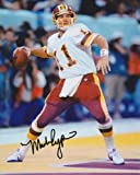 Mark Rypien Autographed Washington Redskins 8x10 Photo at Amazon.com