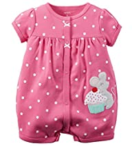 Carter's Baby Girls 1-piece Appliqu�…