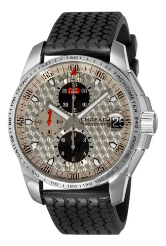 Chopard Men's 168459-3019 Mille Miglia GT XL Chrono Silver Dial Watch