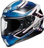 ショウエイ(SHOEI) バイクヘルメット フルフェイス Z-7 VALKYRIE (ヴァルキリー) TC-2 BLUE/WHITE L (59cm) -