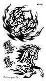 Temporäre Körperkunst Entfernbare Tattoo Aufkleber Pferd - RC2010 Sticker Tattoo