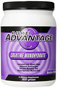 Pure Advantage Creatine Monohydrate Dietary Supplement, 1.1 Pound