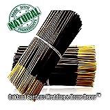 Oakland Gardens Premium Hand Dipped Incense Sticks, You Choose The Scent. 100 Sticks. (EO Crackling Firewood) (Color: Eo Crackling Firewood)