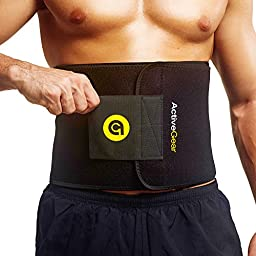 Active Gear Waist Trimmer Belt Unisex (Regular: 9\
