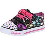 Skechers Kids 10450N Twinkle Toes Hopscotch Light-Up Sneaker (Toddler/Little Kid)