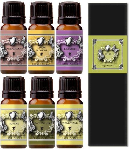 Fragrance Oil - Essence Of Relaxation - Lavender, Frankinsence, Jasmine, Sandalwood, Ylang Ylang, Lemon Blossom - 10 Ml - Scented Oil
