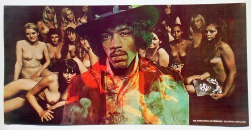 Jimi Hendrix Electric Ladyland Poster