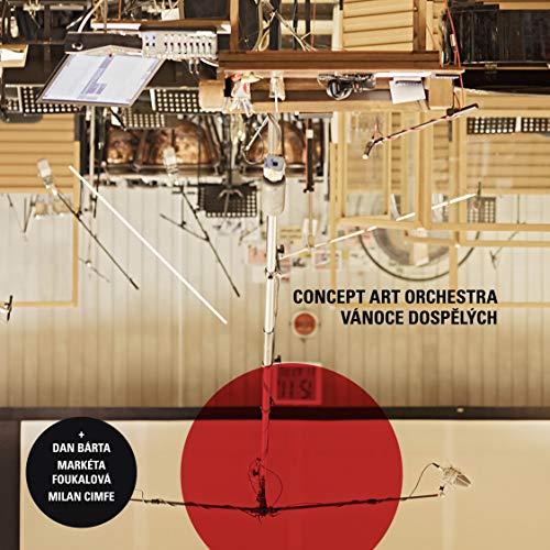 CD : CONCEPT ART ORCHESTRA - DAN BARTA - MARKETA FOUKALOVA - MILAN CIMFE - Grown-up Christmas (CD)
