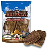 Loving Pets Pure Buffalo Lung Steaks Dog Treat, 8 -Ounce