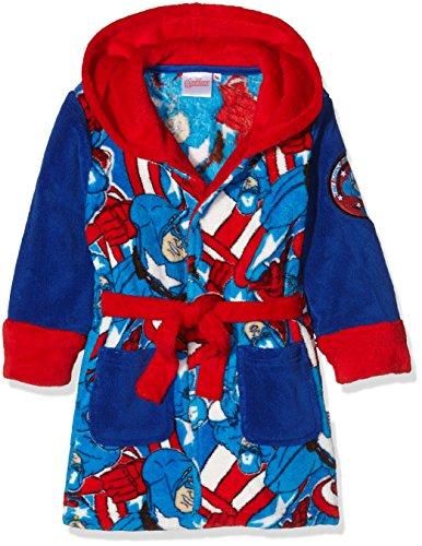 Chambre Garcon Marvel : Marvel captain america us shield robe de chambre garçon