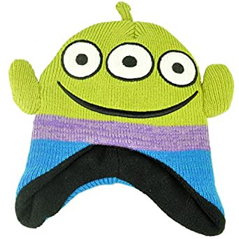 Knitting Pattern Toy Story Characters : Amazon.com: Disney Toy Story Alien Face Movie Character Youth Peruvian Knit B...
