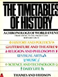 The Timetables of History (0500250480) by Grun, Bernard