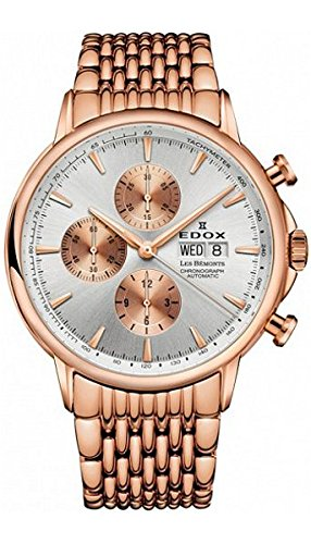 Edox-Mens-01120-37RM-AIR-Les-Bemonts-Analog-Display-Swiss-Automatic-Rose-Gold-Watch