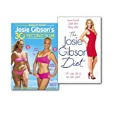 Josie Gibson Josie Gibson Diet Get Slim, Stay Slim Books & DVD Collection Set, (The Josie Gibson Diet: Love Food, Get Slim, Stay Slim and Josie Gibson's 30-Second Slim [DVD])