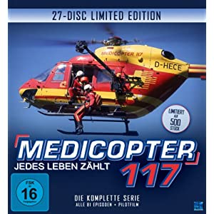 Bald erscheint die Medicopter 117 - Jedes Leben zhlt DVD-Komplettbox