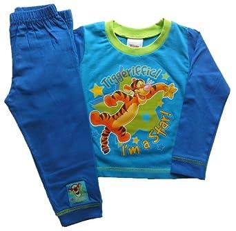 Boys Pyjamas PJs Official Character Long Short Snugglefit -12mths to 10yrs (18 - 24 Months, Tigger - I'm a Star)