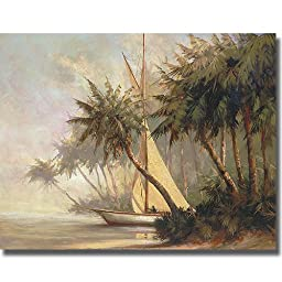 Leaving Out by Malarz Premium Stretched Canvas (Ready-to-Hang)