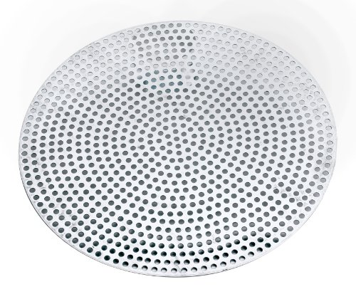 Browne Foodservice 5730008 Thermalloy Aluminum Professional Perforated Pizza Disk, 8-Inch