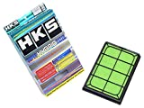 HKS スーパーハイブリッドフィルター アクセラ BLEAW, BLEAP.BK3P,BLEP ビアンテ CC3FW, CCEFW プレマシー CR3W,CREW マツダスピード アクセラ BL3FW.BK3P 70017-AZ007