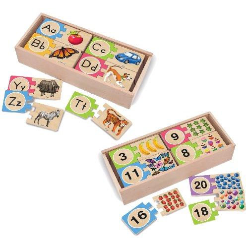 Melissa And Doug Puzzle Storage front-476464