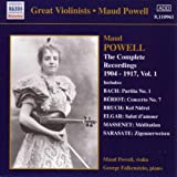 The Complete Recordings of Maud Powell, Vol. 1