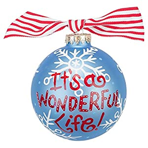 It 39 S A Wonderful Life Ornament Christmas Ball Ornaments