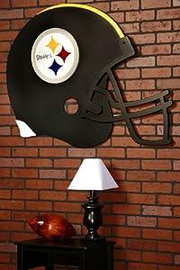 Fan Creations Pittsburgh Steelers Giant Football Helmet Art by Fan Creations