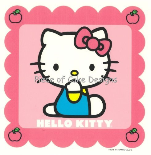 1/4 Sheet ~ Hello Kitty Pink Birthday ~ Edible Image Cake/Cupcake Topper!!! - 1