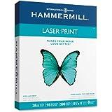 Hammermill Laser Print, 28lb, 8.5 x 11 inch, 98 Bright, 500 Sheet/1 Ream (125534)