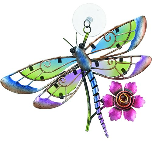 regal art amp gift sun catcher dragonfly home garden decor whimsical enchanted garden gnome metal yard art garden