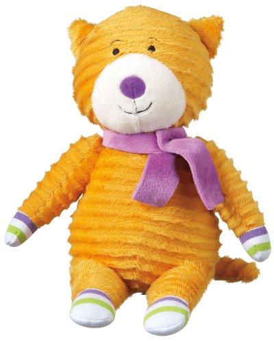 """Monkeez """"Coco"""" Mini Yellow Cat Plush - 1"""