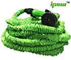 75 Feet Expanding Hose Green Flexible Expandable Garden Water Hose