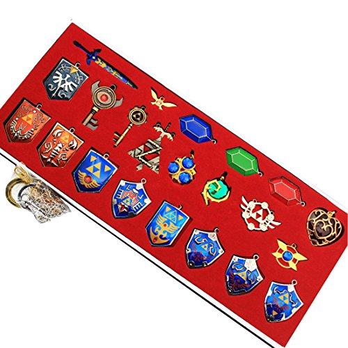 the-legend-of-zelda-twilight-princess-hylian-shield-master-sword-finest-collection-sets-keychain-nec