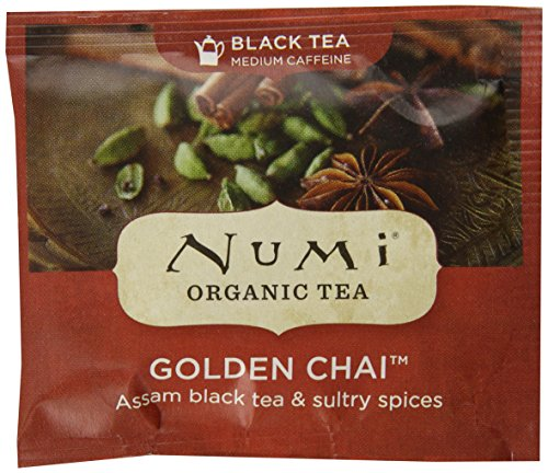 Numi Golden Chai, 100 Count
