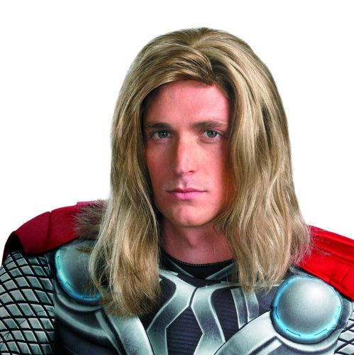 Disguise Men's Marvel Averngers Assemble Thor Wig
