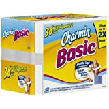 Charmin Basic Toilet Paper 36 Big Squeeze Rolls
