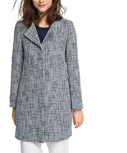 ESPRIT Collection Regular Fit-Giubbotto Donna, Blu (Nave 400), 42