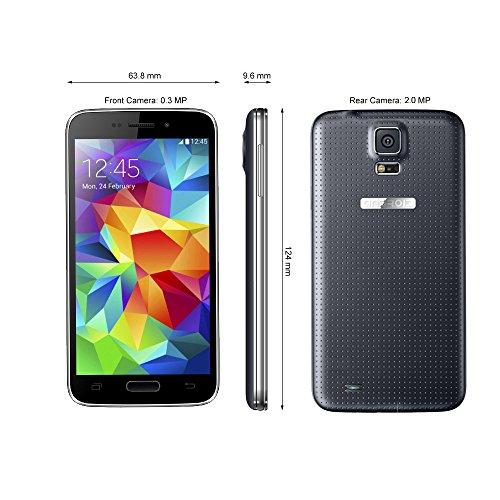 Landvo L100 SIMフリースマートフォン 超薄型(厚さ9.6mm) WCDMA 3Gスマートフォーン IPS 480 * 800 ピクセル● Android 4.2搭載●4インチ/MTK6572 クアッドコア1.0GHz/Bluetooth/GPS/512MB RAM 4GB ROM 0.3MP 2MP/デュアルSIM+デュアルカメラ