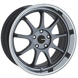 18×8.5 Enkei Tenjin (Gunmetal w/ Machined Lip) Wheels/Rims 5×114.3 (478-885-6525GM)