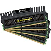 Corsair Vengeance 32GB 4x8GB DDR3 1600 MHZ PC3 12800 Desktop Memory