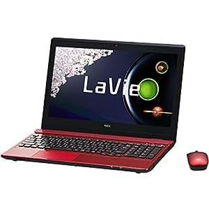 日本電気 LaVie Note Standard - NS550/AAR クリスタルレッド PC-NS550AAR