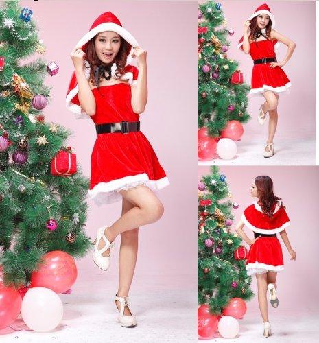 コスプレ衣装 サンタ ワンピース [クリスマス/ワンピース/サンタガール] コスチューム