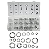 Trademark Tools 75-7720 Hawk Assortment of 720 Steel Lock and Star Washers