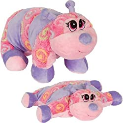 Pillow Chums Hi My Name is Tucker Curlz 12 Plush Pillow and Toy